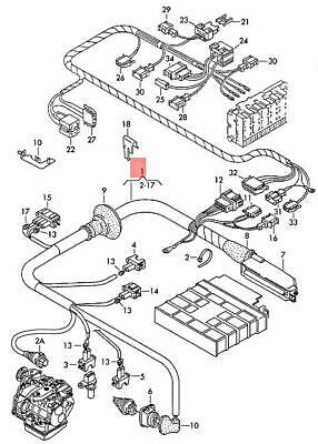 Genuine VW Wiring Harness For 4-Speed Gearbox NOS VW