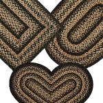 Black Forest Jute Braided Rugs By Ihf Rugs