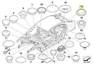 BMW 3 SERIES E90 E91 E92 F30 F31 Blind plug D=35MM