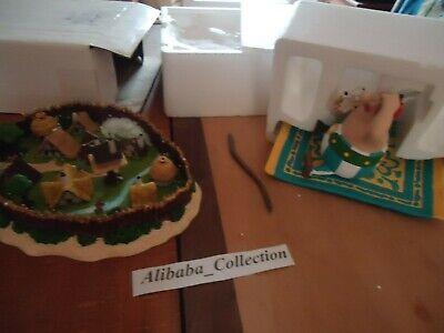 scene tapis volant village asterix figurine collection atlas resine boite ebay