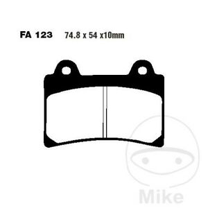 EBC FA Rear Brake Pads FA123 Yamaha XVZ 1300 TF Royal Star