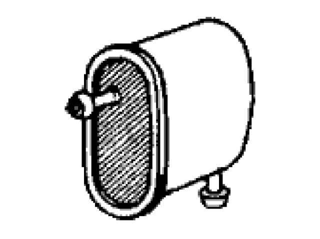 x ~ GENUINE Honda Part #16900-538-024 FUEL FILTER CIVIC