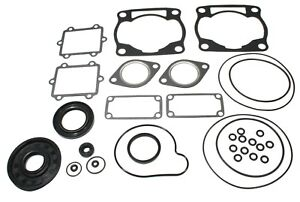 Arctic Cat ZR 600, 2001-2002, Full Gasket Set and Crank