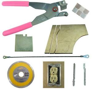 details about tile glass cutter kit pink curve notch cutouts jigsaw rodsaw grinder blade l h