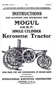 International Harvester Mogul 8-16 HP Kerosene Tractor
