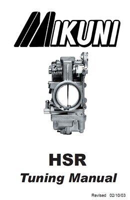 Mikuni HSR Carb Tuning Manual 42/45/48/Instilation