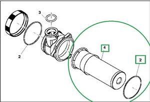 John Deere 3120 3203 3320 3520 3720 4105 Hydraulic Filter