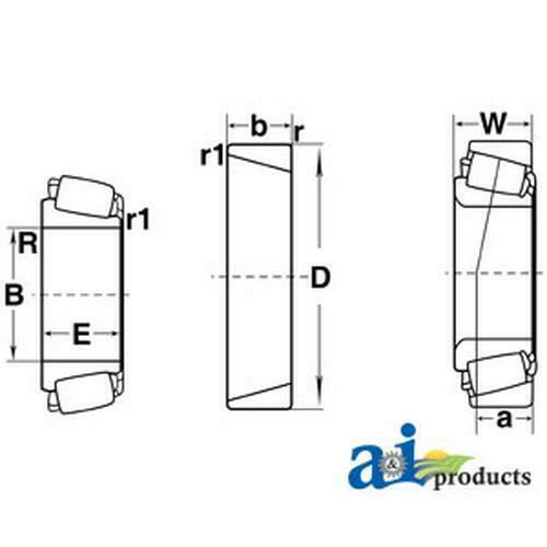 enjoy fast and free delivery Cone Tapered Roller for Ford