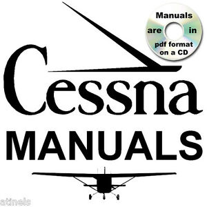 CESSNA 172 Skyhawk SERVICE MANUAL Parts Catalog, Owners