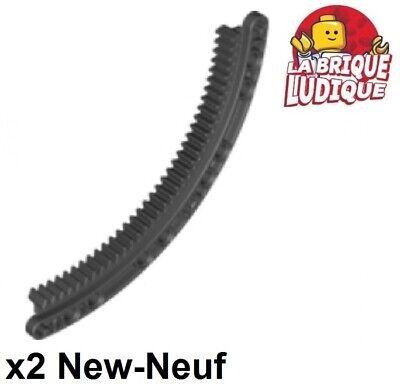 lego technic 2x gear pinion gear rack 11x11 curved black black 24121 new ebay
