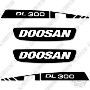 Doosan DL 300 Decal Kit Wheel Loader Equipment Decals