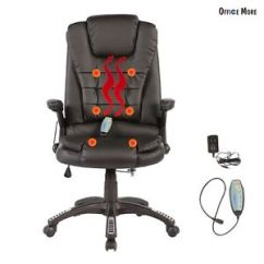 Ergonomic Office Chair Ebay Toilet Accessories Massage Heated Vibrating Executive Computer Image Is Loading
