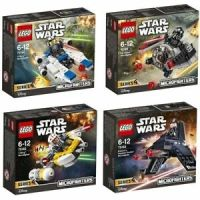 LEGO STAR WARS MICROFIGHTER SERIES 4 COLLECTION 75160 ...