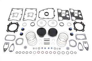 103 Twin Cam Flat Top Piston Kit Standard For Harley