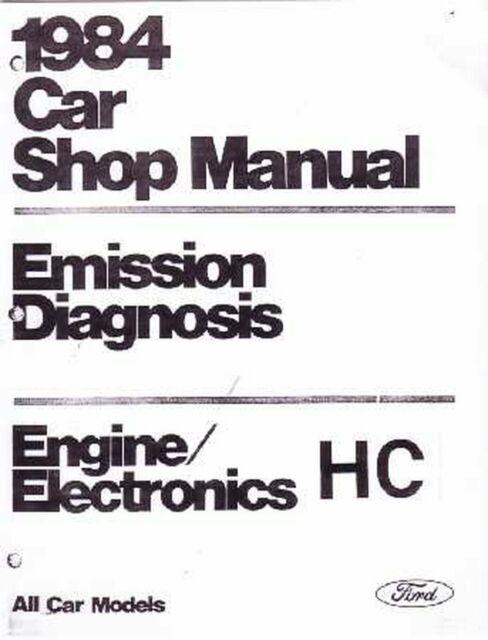 OEM Repair Maintenance Shop Manual Ford Vol H Eng