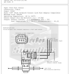 general motors e85 flex fuel sensor for sale online ebay gm flex fuel sensor wiring diagram [ 800 x 1175 Pixel ]