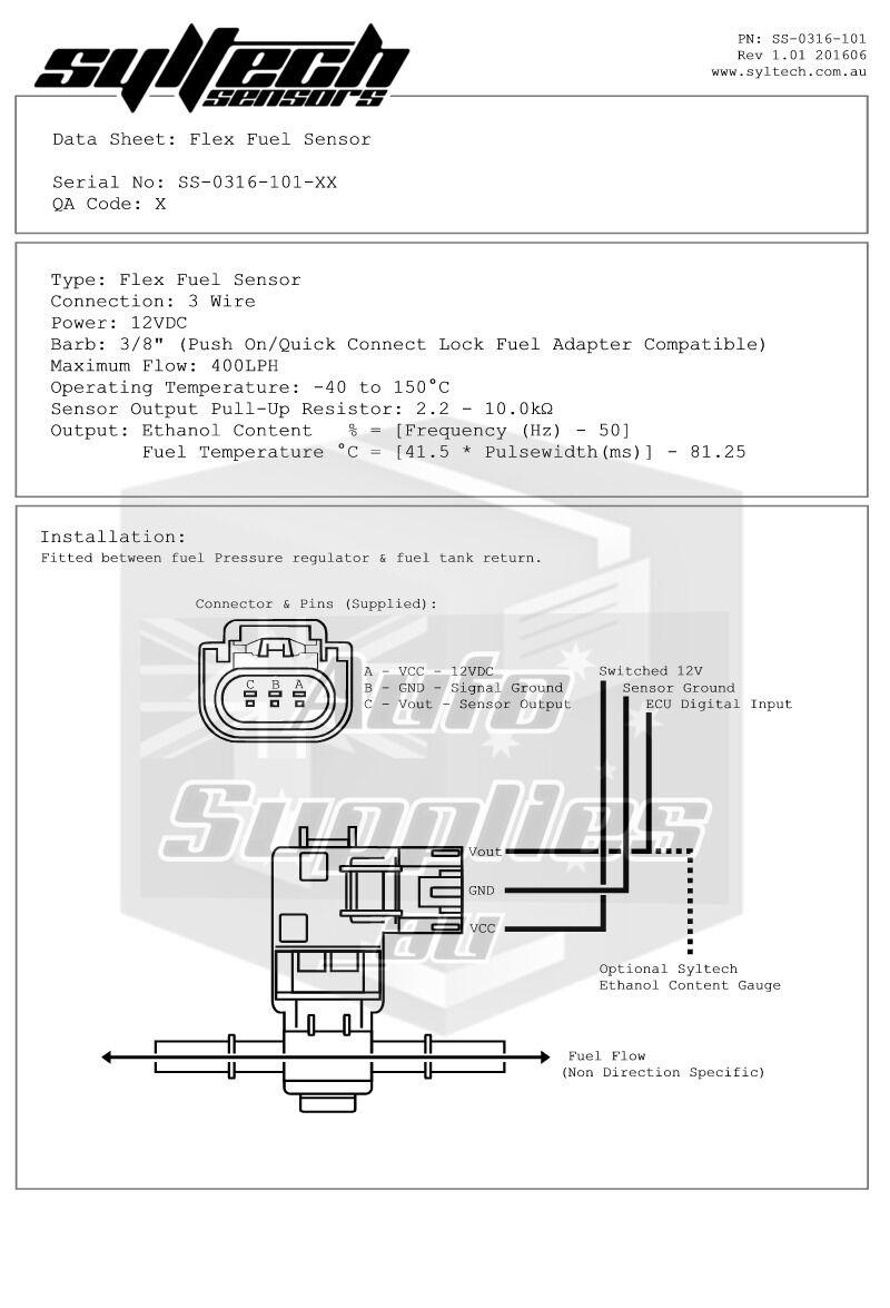 hight resolution of general motors e85 flex fuel sensor for sale online ebay gm flex fuel sensor wiring diagram
