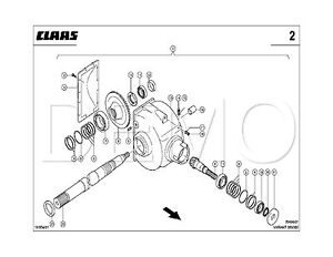 Claas Variant 180/RC TYP 048 Spare Parts Catalogue