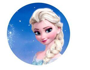 Tortenaufleger Die Eisknigin Elsa ca20cm FondantZucker