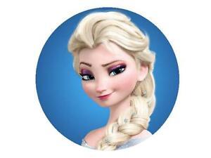 Eisknigin Frozen Elsa Kopf Tortenaufleger Tortenbild