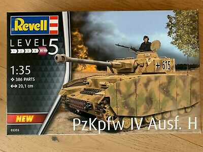 Revell 03333 Panzer IV Ausf. H WWII D. 1:35 03333 | eBay