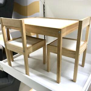details sur ikea latt table pour enfant 2 chaises meubles ensemble de sieges d enfants