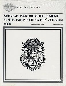 1989 Harley FLHTP FXRP/C.H.P. Police Service Repair Manual