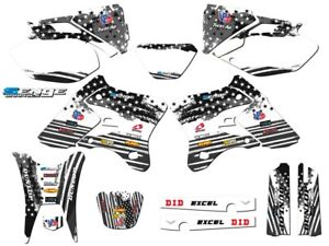 2003 2004 WR 250 450 GRAPHICS KIT YAMAHA WR250F WR450F