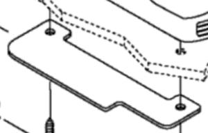 BRP 1999 SKI-DOO FORMULA Z 500/583/670 Deflector 517298800