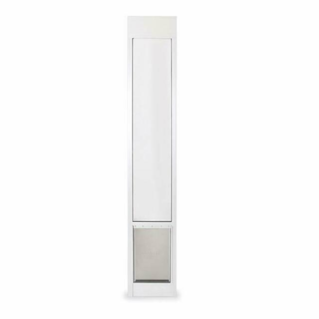 petsafe freedom aluminum patio panel sliding glass pet door 76 13 16 81 inch