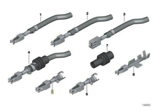 BMW 12v Auto Car Fuse Holder Blade Terminal Contact Pin