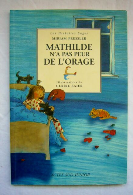 T Choupi A Peur De L Orage : choupi, orage, Mathilde, L'orage, MIRJAM, PRESSLER, Illustr.Ulrike, BAIER, C.neuf