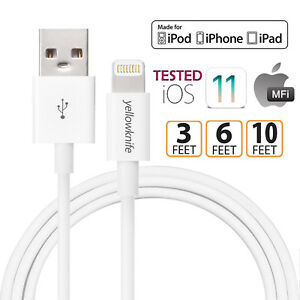 MFI Lightning USB Cable Data Charging 6.6FT/2M Apple