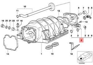 Genuine BMW E31 E38 E39 Coupe Engine Crankcase Vent Valve