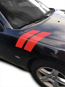 2006 Dodge Charger Decals : dodge, charger, decals, Fender, Racing, Stripes, Decal, Dodge, Charger