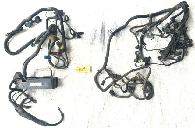 Dashboard Wiring Harness Clip-VIN: P Mopar 56010350AE fits
