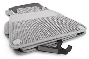 details sur tapis de sol mercedes classe c w203 qualite origine moquette grise 2400g m luxe