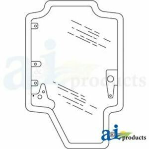 84415734G Case IH Door Assembly, Glass Only, No Metal
