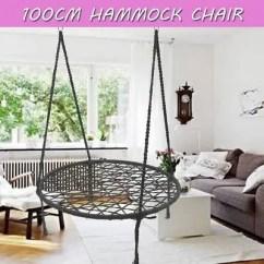 Swing Chair Sydney Workbench With Wheels 100cm Round Hammock Nest Tree Large Seat Kids Outdoor