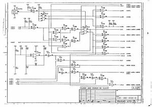 FANUC TAPE DRILL Mate (FANUC 0 model B) Circuit diagram of