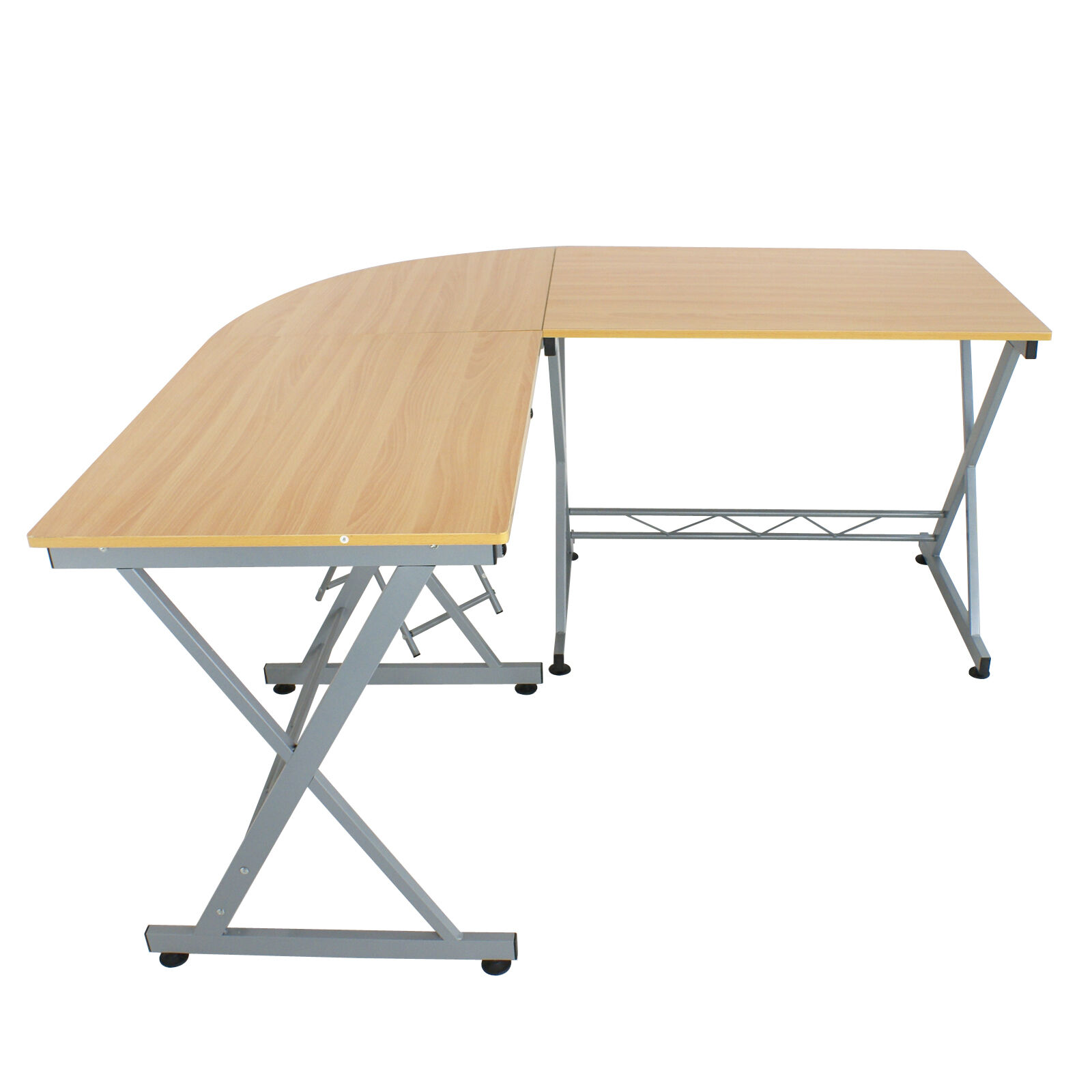 chair computer stand best folding camp corner l shaped desk and pvc floor mat with