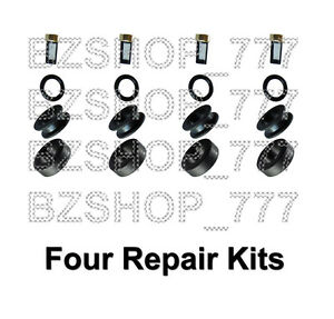 4 Fuel Injector Repair Kits fits Suzuki Grand Vitara 2.0L