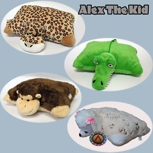 details about snuggle pets cushion plush toy pillow pet toddlers teddy bear