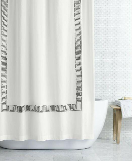 hotel collection linen 72x 72 shower curtain tan beige