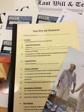 Last Will and Testament Form & Secure Envelope Kit | eBay