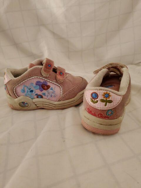 Blues Clues Shoes : blues, clues, shoes, Vintage, Blues, Clues, Toddler, Shoes, Periwinkle, Straps