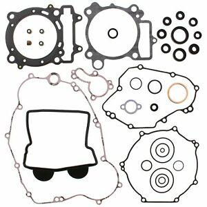 Kawasaki KX450F, 2006-2008, Complete/Full Gasket Set with