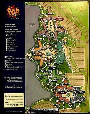 Pop Century Resort Map : century, resort, Disney, World, Century, Resort, Theme, Guide