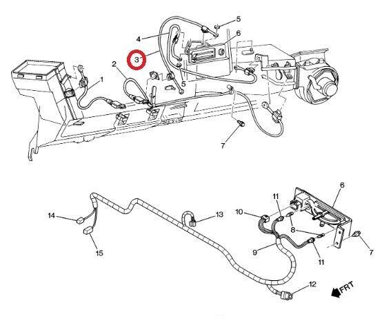 GM 15607288 Genuine OEM K2500 Blazer C1500 Suburban Yukon