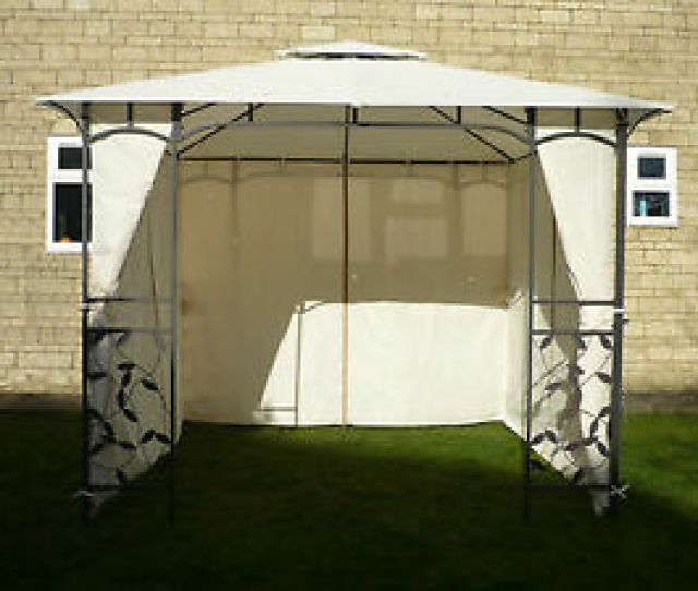 Image Is Loading Curtains Only For Homebase Lucca M Gazebo Side